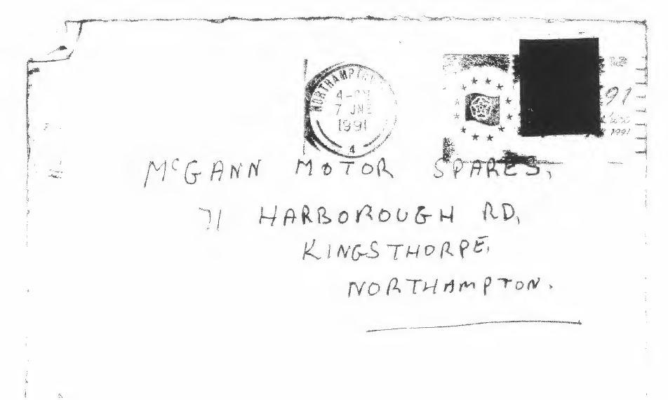 Northampton murder evidence McGann