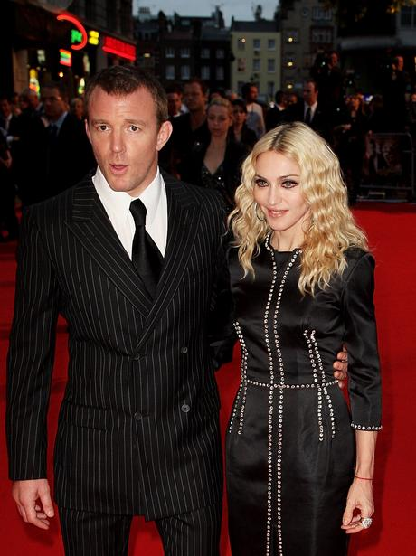 Guy & Madonna on the red carpet