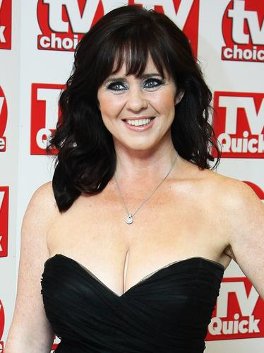 Coleen Nolan on the red carpet