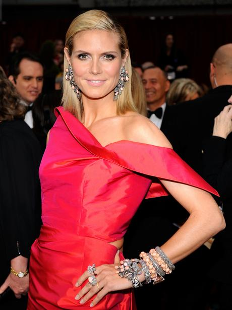 Heidi Klum at The Oscars 2009