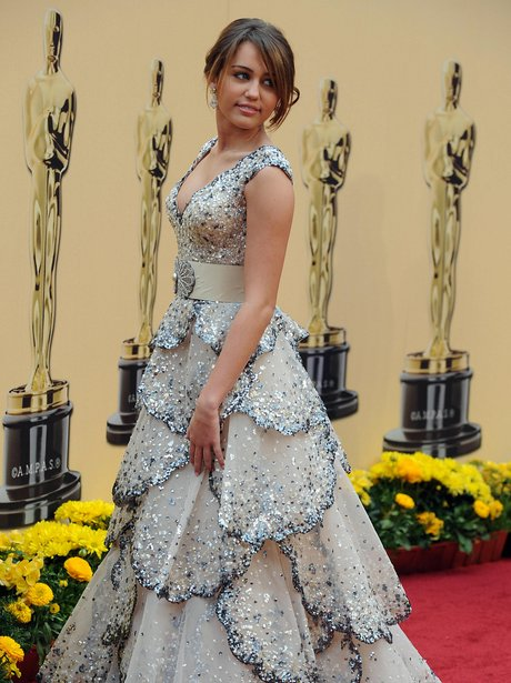 Miley Cyrus at The Oscars 2009
