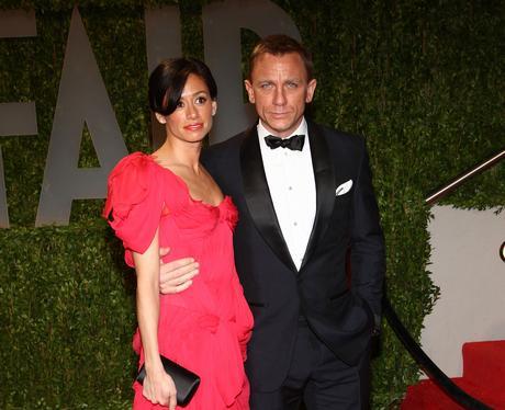 Satsuki Mitchell and Daniel Craig at The Oscars 20