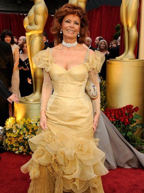Sophia Loren at The Oscars 2009