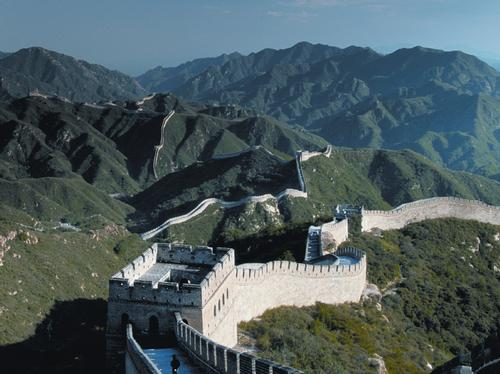 Stunning views from The Great Wall