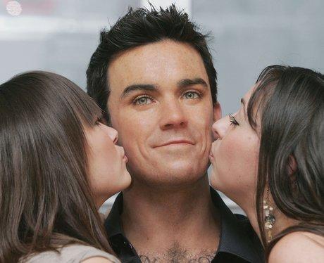 Robbie Williams' waxwork