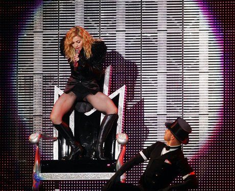 Madonna plays live in Germany