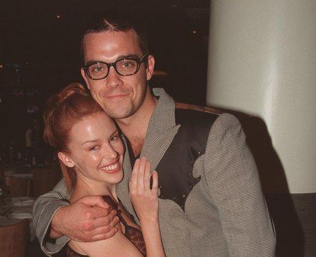 Robbie Williams with Kylie Minogue