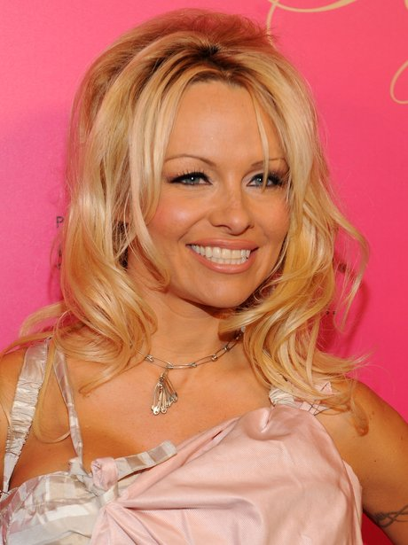 Pamela Anderson on red carpet