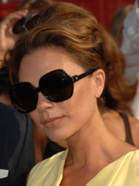Victoria in her big sunglasses