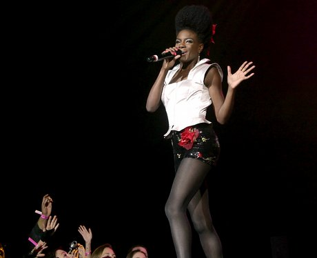 Noisettes on stage at the Jingle Bell Ball