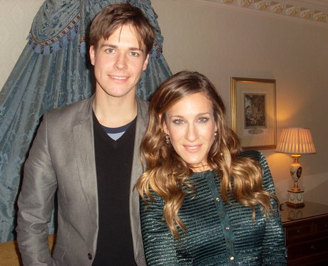 Kevin Hughes with Sarah Jessica Parker
