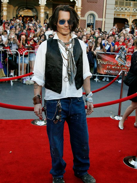 Johnny Depp Changing Styles Johnny Depp Heart