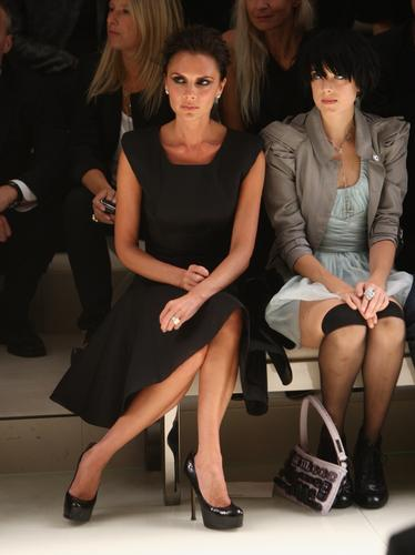 Victoria Beckham and Agyness Deyn