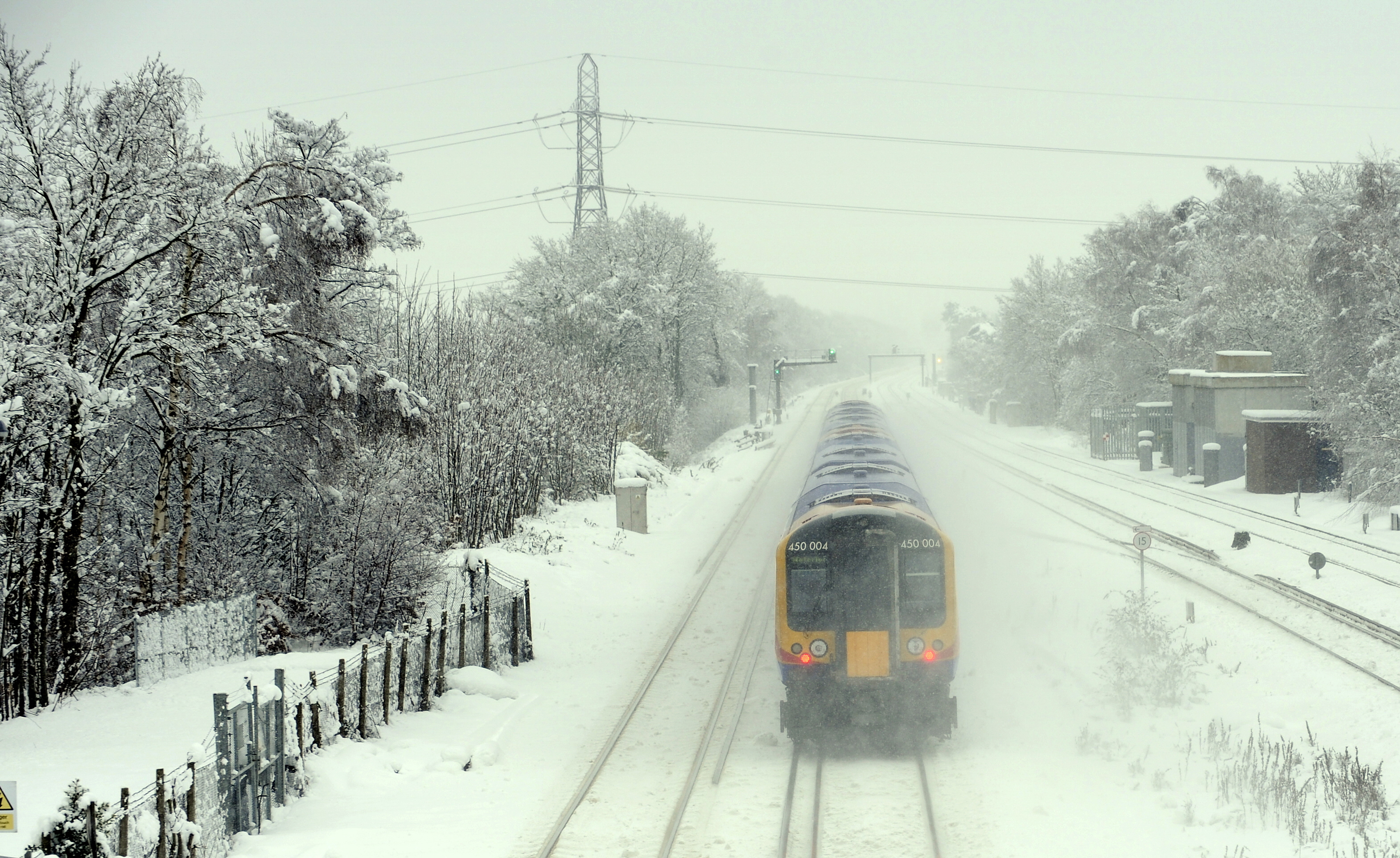 Snow grips London