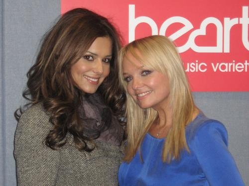 Emma Bunton and Cheryl Cole