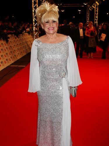 Barbara Windsor at the TV Awards 2010