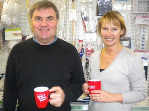 Barrie & Sue Gaiesford from Colchester Mobility Ce