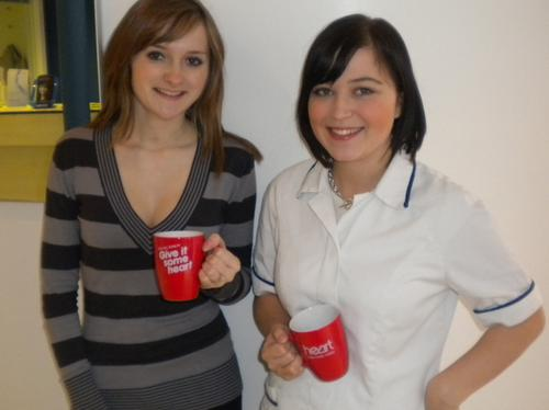 Gemma Etherton and Samantha Carnis from Colchester