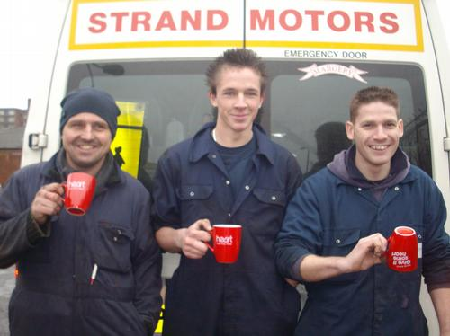 Nick, Bryan and Adrian