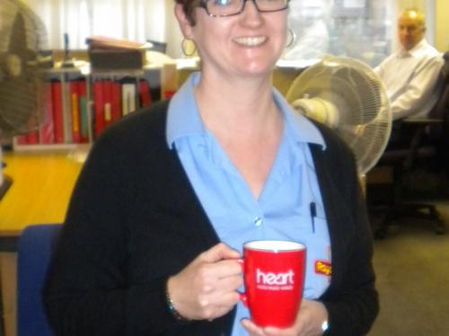 Lisa Boyton from Royal Mail, Colchester