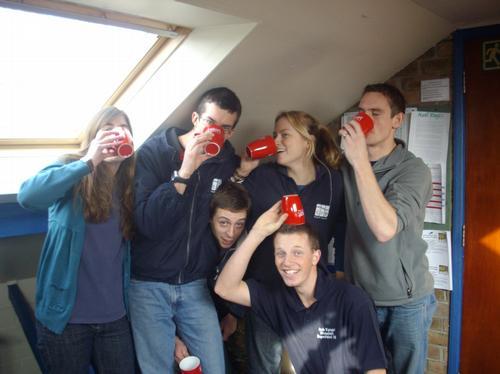 Tim, Hannah, Chris, Jo, Ben and Jake