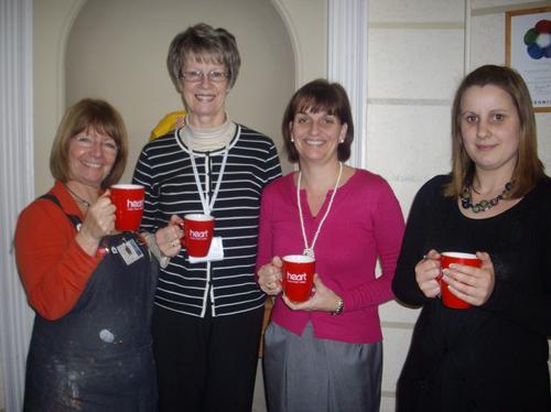 Pam, Brenda, Megan and Karen