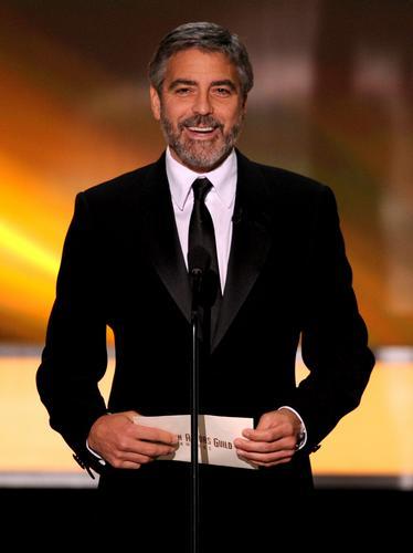George Clooney at SAG Awards 2010