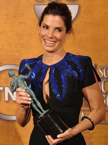 Sandra Bullock at SAG Awards 2010
