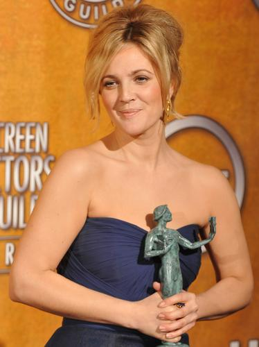 Drew Barrymore at SAG Awards 2010