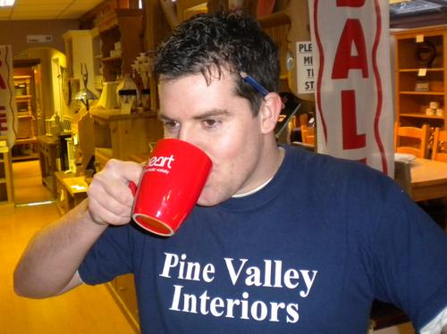 Shaun Taylor from Pine Valley Interiors