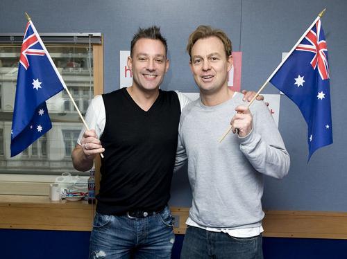 Toby and Jason on Australia Day