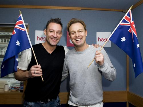 Toby and Jason on Australia Day
