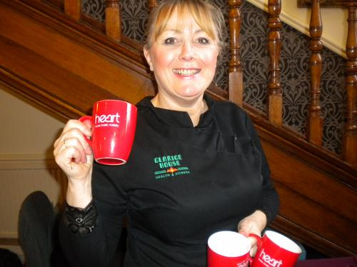 Val Hockley from Clarice House