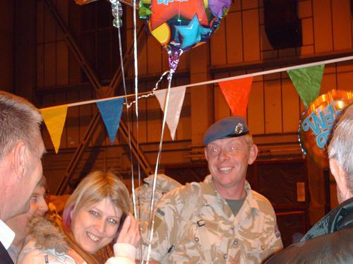 RAF Honington's Gunner's homecoming