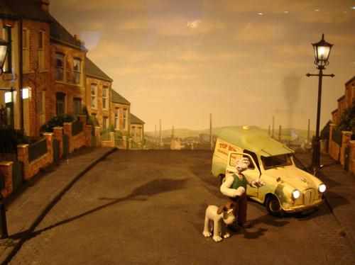 Wallace and Gromit at the Animate It exhibition