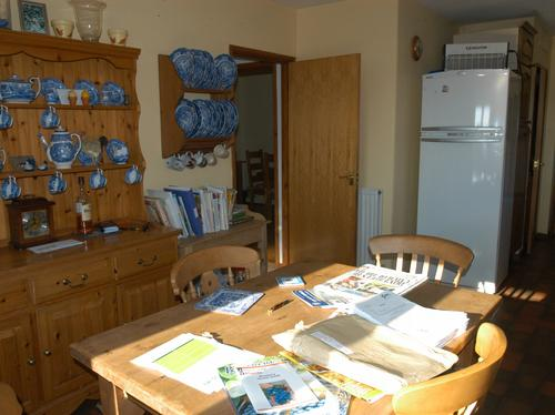 Kitchen at Prout farm