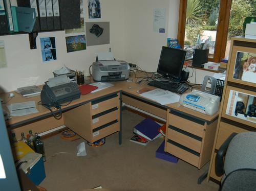Office at Prout farm