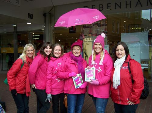 Race for life launch - Ipswich