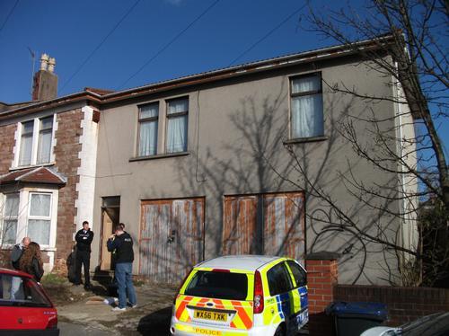 Drugs raid Horfield, Bristol