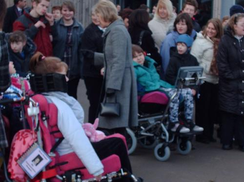 Countess of Wessex meets Suffolk crowds