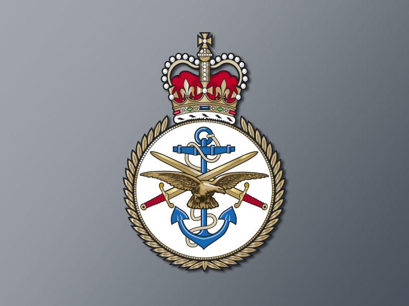 The MOD's logo
