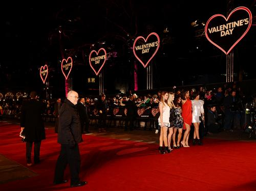 Valentines Day premiere and party