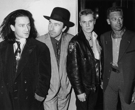 U2 at the 1988 BRIT Awards