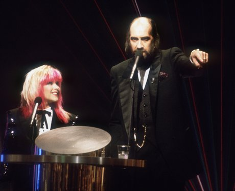 Samantha Fox Mick Fleetwood 1989 BRIT Awards