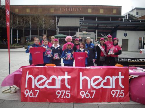 Hampshire Portsmouth Race for life launch