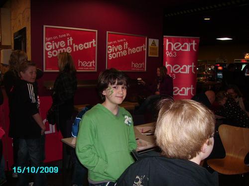 The Heart Film Fun Day at Cineworld in Llandudno.