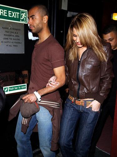 Cheryl and Ashley Cole