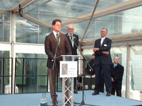 Fabio Capello Opens Suffolk New College