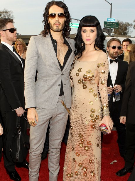 Katy Perry + Russell Brand