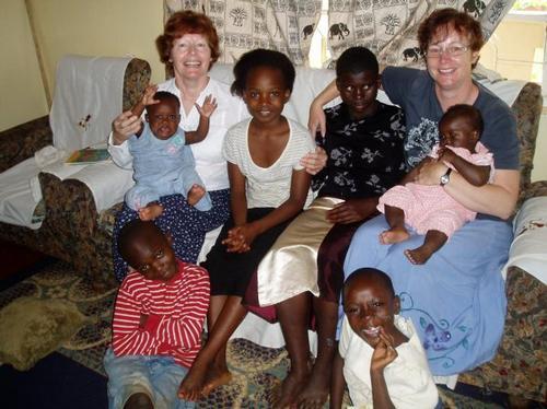 Kenyan babies